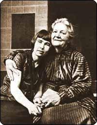 Варвара Дмитриевна с матерью Анной Николаевной Бубновой