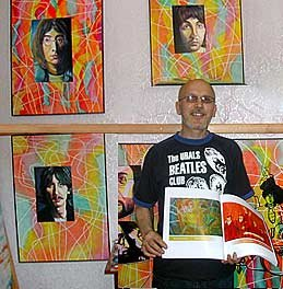 Портреты кумиров вдохновляют на творчество