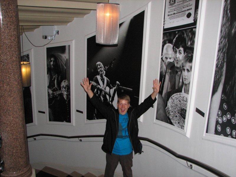 Внутри A Hard Day's Night Hotel