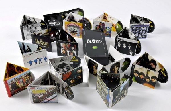 The Beatles  - Stereo Box Set Remastered (подробное фотоописание)