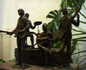 Проект памятника Beatles в Самаре