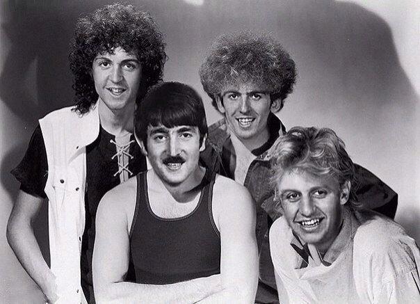Как бы звучали песни Queen, если бы их исполнила группа The Beatles