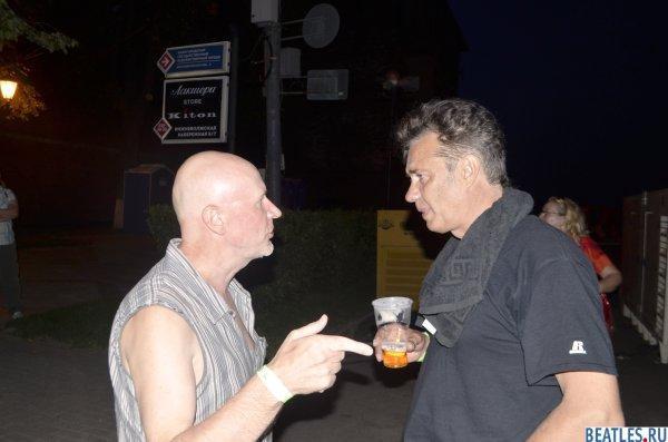 Вадим Демидов (Хроноп) и Майк Борзыкин (Телевизор)