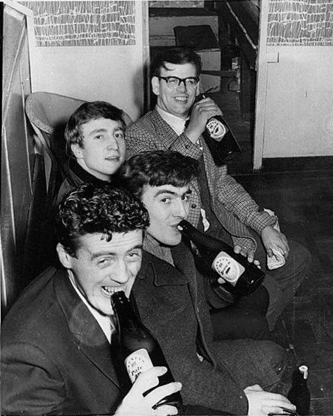Sam Leach - with The Beatles 1961