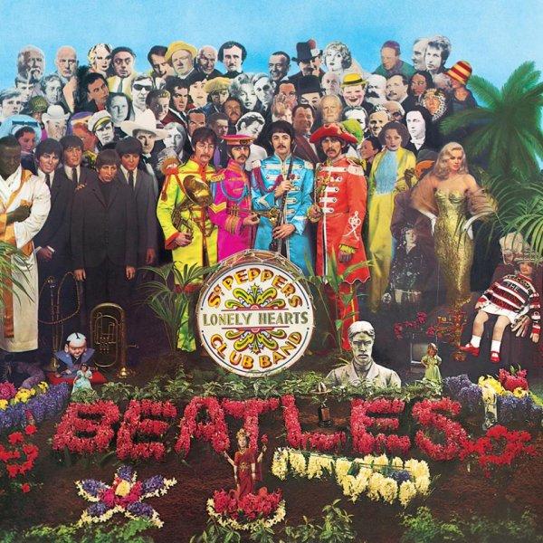 Лицевая сторона обложки 'Sgt. Pepper'