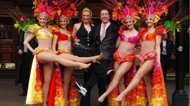 Эрик Айдл на премьере мюзикла 'Спамалот' в Лондоне