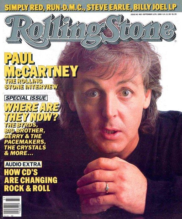 Полный перевод интервью Пола Маккартни журналу Rolling Stone (No. 482, 1986)