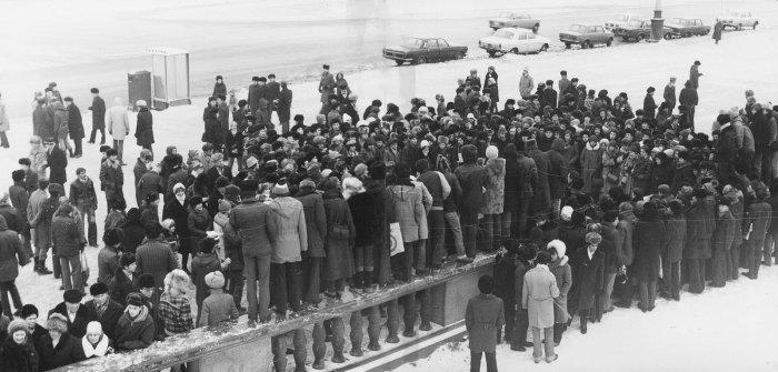 Митинг на Ленинских Горах. Источник: фото Бориса Антонова