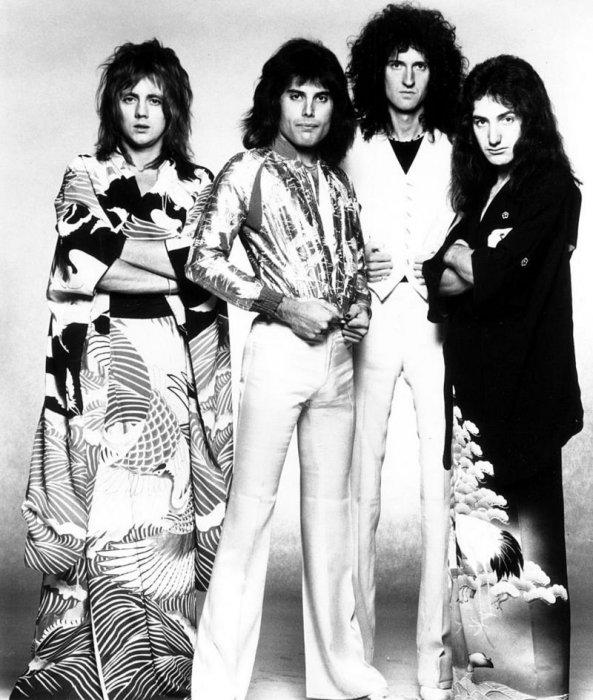 Промо-фото перед гастролями в Японии 1975 г.