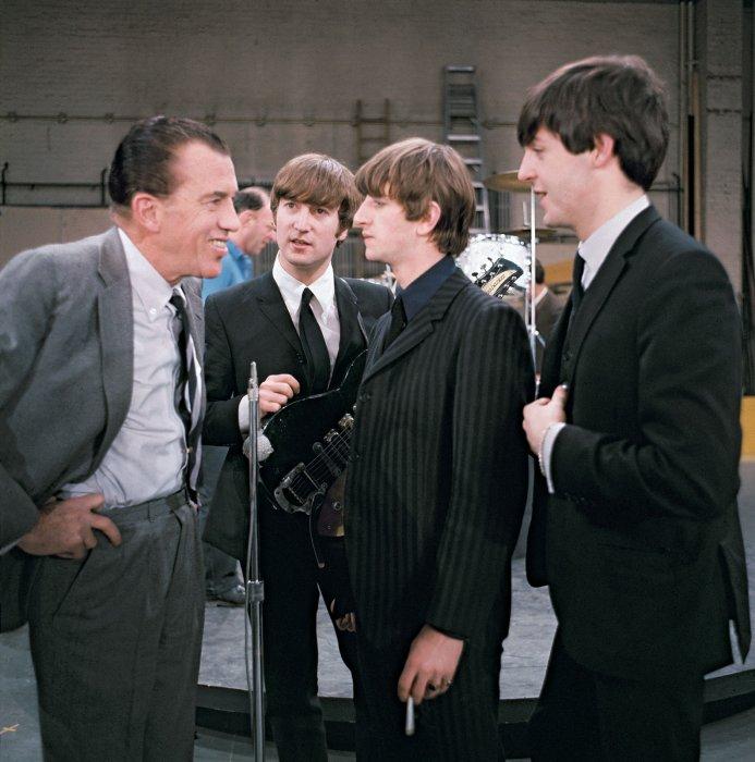 Ed Sullivan и Битлы в 1964