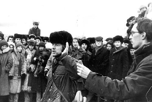 21 декабря 1980 года, Ленинские горы - день памяти Джона Леннона